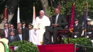 President Barack Obama and Pope Francis married their political and spiritual power to urge action on immigration and the environment Wednesday...