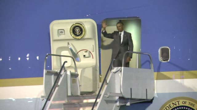 US President Barack Obama arrived in Panama Thursday for a summit of leaders from the Americas where thawing ties with Cuba top the agenda