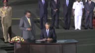 US President Barack Obama arrived in the Kenyan capital Nairobi late Friday making his first visit to the country of his father's birth since his...
