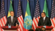 US President Barack Obama delivered a blunt appraisal of Ethiopia's democracy deficit during a landmark visit Monday but indicated it would not...
