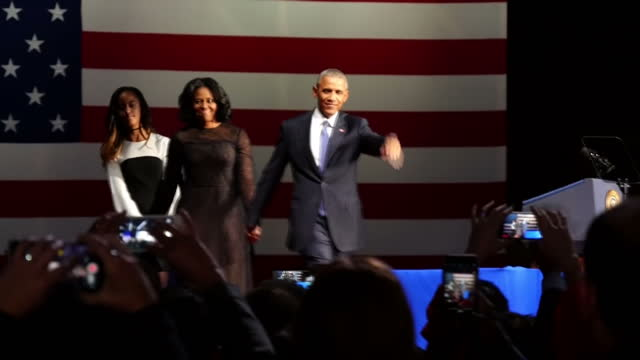 President Barack Obama delivered his farewell speech to the American people in Chicago Illinois He thanked Americans for making him 'a better man'...