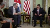 US President Barack Obama has proposed that the United States and Cuba reopen embassies in their respective capitals as of July 20 in a letter...