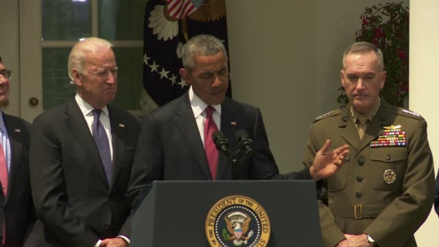 US President Barack Obama nominates General Joe Dunford of the US Marine Corps for Chairman of the Joint Chiefs and US Air Force General Paul Selva...
