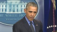 President Barack Obama said no peace was possible in Syria without a legitimate government during his final press conference for the year 2015