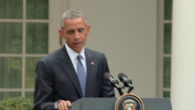 US President Barack Obama says he was surprised by the news Speaker of the House John Boehner is resigning during a press conference with China's...