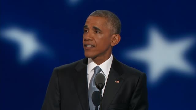 President Barack Obama speaks at the 2016 DNC telling delegates that nothing prepares you for the demands of the presidency that Hillary Clinton has...
