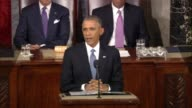 President Barack Obama tells Congress during the 2015 State of the Union that Americans need more 'to upgrade their skills'