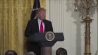 US President Donald Trump attacks the dishonest media in his first solo press conference since assuming office