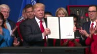 WGN President Donald Trump signed an executive orderdirecting federal agencies to implement the 'Buy American Hire American' rhetoric of his...