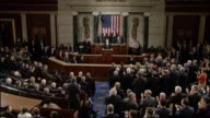 President Donald Trump tells a Joint Session of Congress that he is calling on Congress to repeal and replace Obamacare and pass reforms that will...