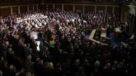 President Donald Trump tells a Joint Session of Congress that education is the civil rights issue of our time saying that he is calling on...