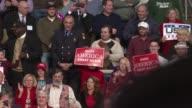 US president elect Donald Trump thank you tour speech in Hershey Pennsylvania