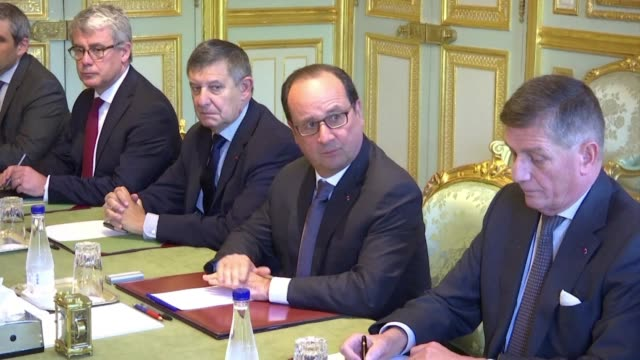 President Francois Hollande called an urgent meeting of Frances defence council on Wednesday following reports that US intelligence wiretapped French...