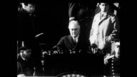 President Franklin Roosevelt giving a speech President FDR speaking on January 01 1935
