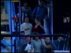 President Hugo Chavez and tensions with the US VENEZUELA Caracas General view escalators in shopping mall Shoppers along People along and past Louis...
