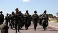 President Maduro has deployed 3000 Venezuelan troops Maduro on the border with Colombia