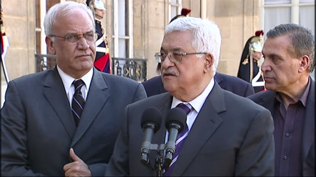 President Nicolas Sarkozy hosted Palestinian leader Mahmud Abbas in Paris on Thursday as France told the United Nations that Europe was considering...