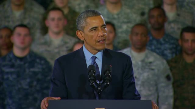 President Obama addresses troops at Joint Base McGuireDixLakehurst he talked about the need to eradicate ISIS terrorist threats