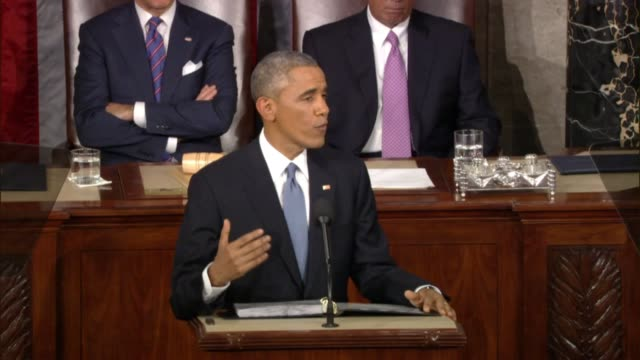 President Obama says at 2015 State of the Union address 'we've learned costly lessons' in war on terrorism