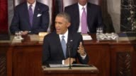 President Obama says in 2015 State of the Union address that the economy depends on having a strong infrastructure adding 'Let's get it done'