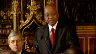 Jacob Zuma speech to MPs Jacob Zuma speech continues SOT It demonstrates to us the clear determination of the United Kingdom to invest in the...