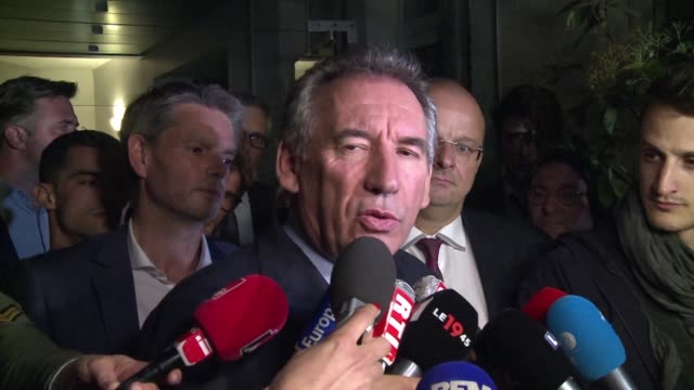 President of the centrist MoDem party François Bayrou says Friday evening that they have reached a solid and balanced draft agreement with the La...