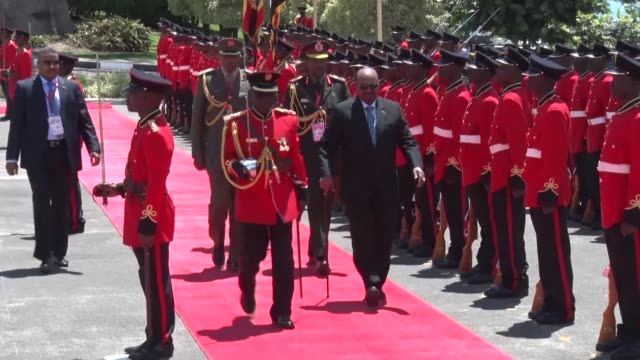 President Omar alBashir of Sudan arrived in Uganda on Monday for a two day visit his second visit to the country since President Yoweri Museveni was...
