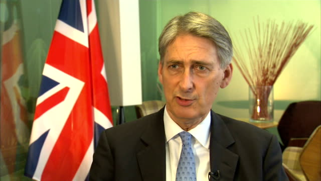 President Putin accuses the West of bullying him over Ukraine crisis LOCATION Philip Hammond MP interview SOT The word is cronies cronies of Mr Putin...