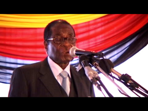 President Robert Mugabe comments on strategies of government success during cabinet meeting Zimbabwe 30 July 2009