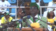 President Robert Mugabe won a landslide victory in Zimbabwes disputed election officials results showed Saturday as opponents vowed to challenge the...