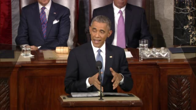 US President tells Congress in his 2015 State of the Union that economy needs to 'keep churning out high wage jobs for our workers to fill'