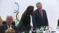 IOC President Thomas Bach opens the final day of meetings as the IOC visits Brazil to evaluate for the Rio 2016 Olympic Games and study 2020 Olympic...