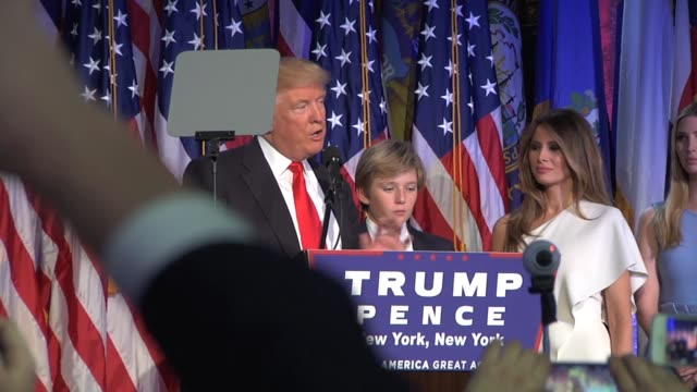 Presidentelect victory speech
