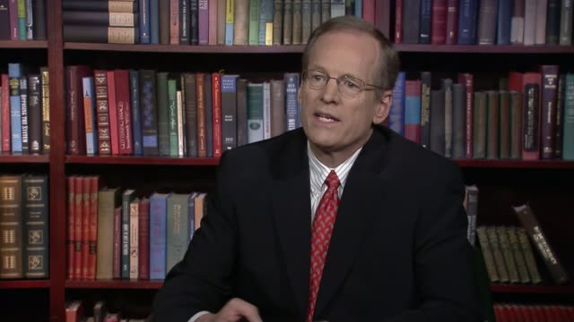 4 days to polling day USA Washington DC INT Jack Kingston interview SOT