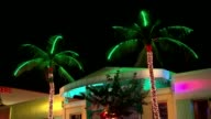Donald Trump and Hillary Clinton emerge as front runners Miami South Beach EXT / NIGHT Exterior of Boulevard Hotel Setup shot of reporter with father...
