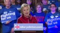 Presidential hopeful Hillary Clinton earns a muchneeded win over Bernie Sanders in Nevada's Democratic caucuses US networks projected while Donald...