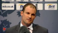 ECB press conf at Lords with Andrew Strauss and Alastair Cook QA SESSION It's a very tough decision to make The driver to it all was my form with the...