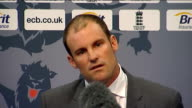 ECB press conf at Lords with Andrew Strauss and Alastair Cook Strauss SOT re ADVICE TO COOK RE DEALING WITH DIFFICULT TEAM MATES I'm not going to...