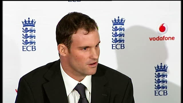 Andrew Strauss says he can unify England team ENGLAND London Lord's INT Andrew Strauss press conference SOT As long as he has played for England...