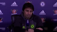Press conference with Antonio Conte ahead of Chelsea's Premier League game against Leicester on Saturday