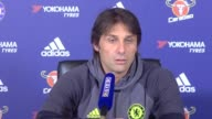 Press conference with Antonio Conte ahead of Chelsea's Premier League clash with Sunderland