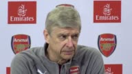 Press conference with Arsene Wenger ahead of Arsenal's Premier League clash against West Brom