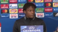 Press conference with Celtic defender Dedryck Boyata ahead of his side's Champions League group stage match in Anderlecht
