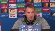 Press conference with Celtic manager Brendan Rodgers ahead of his side's Champions League group stage match in Anderlecht
