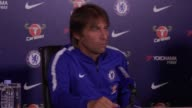 Press conference with Chelsea manager Antonio Conte He says Wayne Rooney's retirement is a 'pity' calling the player an icon But he says people must...