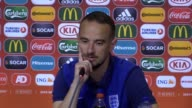 Press conference with England Women coach Mark Sampson after their 30 loss to Netherlands Women in the Women's European Championship Semifinal