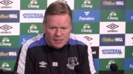Press conference with Everton manager Ronald Koeman ahead of the game at home to Hull City Koeman told the media that he was unhappy with Romelu...