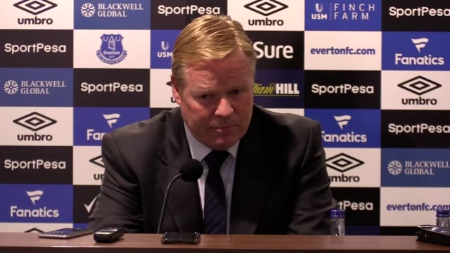 Press conference with Everton manager Ronald Koeman following the 20 Europa League win over Hajduk Split He says his team played well in the first...