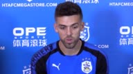 Press conference with Huddersfield captain Tommy Smith ahead of the Premier League He says it is an honour to be the captain and discusses their 'no...