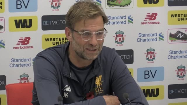 Press conference with Liverpool manager Jurgen Klopp ahead of his side's away Premier League fixture at West Ham